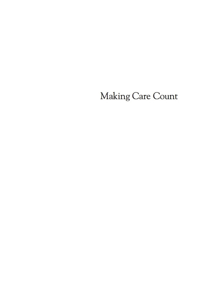 Making Care Count