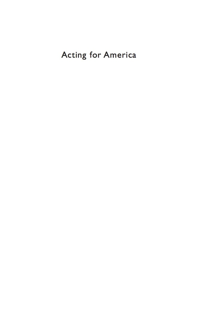 Acting for America