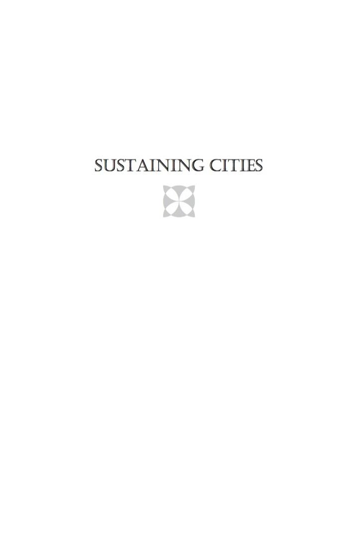 Sustaining Cities