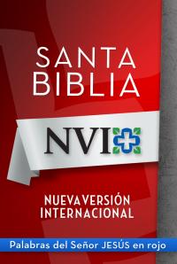 NVI Santa Biblia con letra roja              by             Zondervan