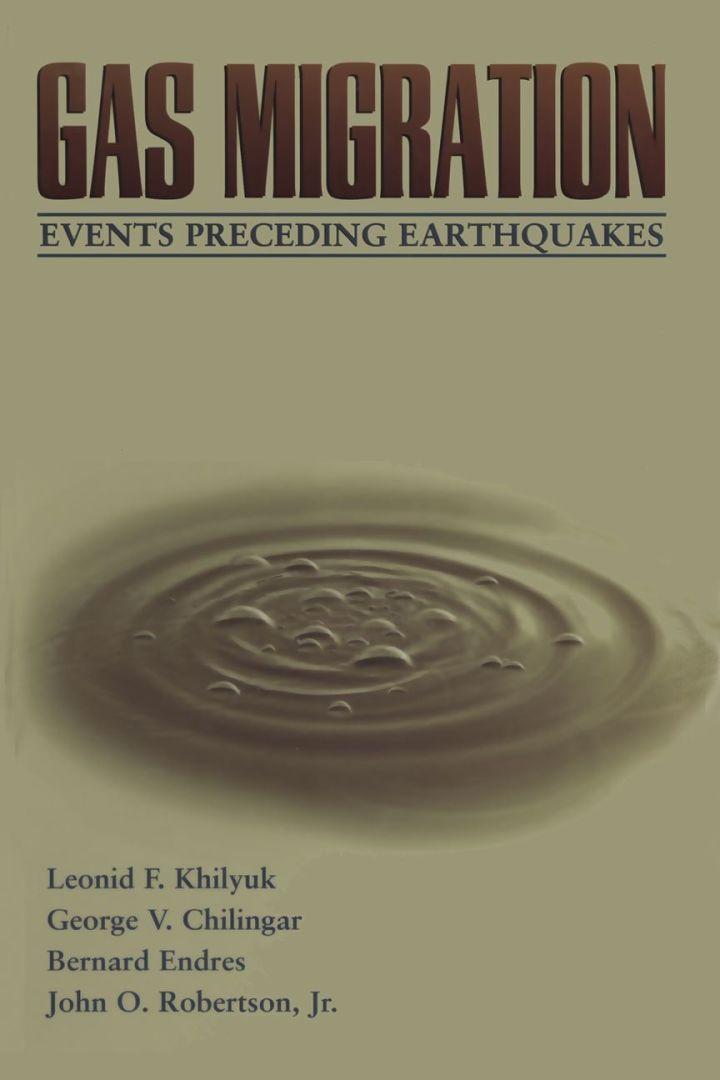 Gas Migration: Events Preceding Earthquakes