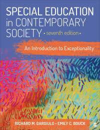 Interactive: Special Education in Contemporary Society: An Introduction to Exceptionality Interactive eBook              by             Richard M. Gargiulo - Professor Emeritus; Emily C. Bouck