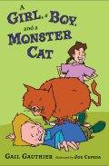 A Girl, a Boy, and a Monster Cat 9781101126998
