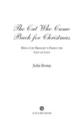 The Cat Who Came Back for Christmas 9781101603529
