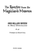 The Specter From the Magician's Museum 9781101659755
