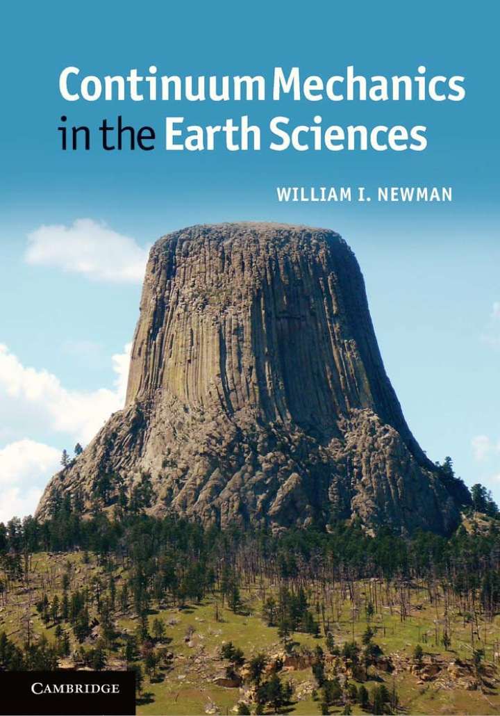 Continuum Mechanics in the Earth Sciences