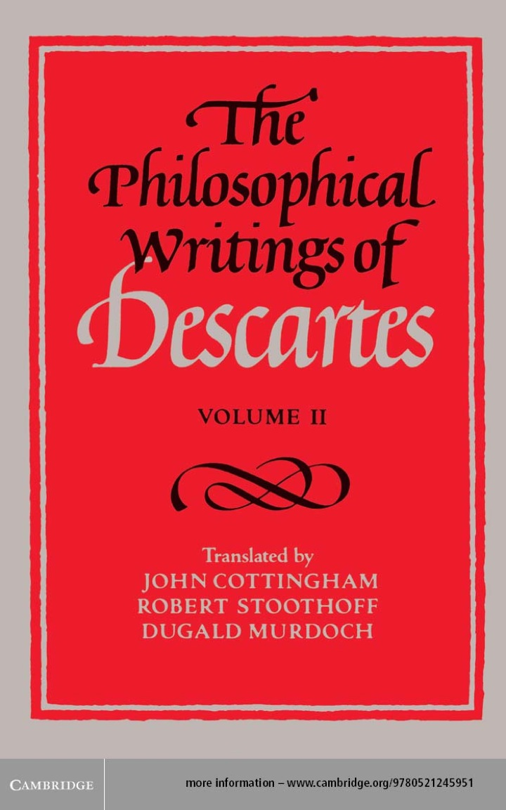 The Philosophical Writings of Descartes: Volume 2