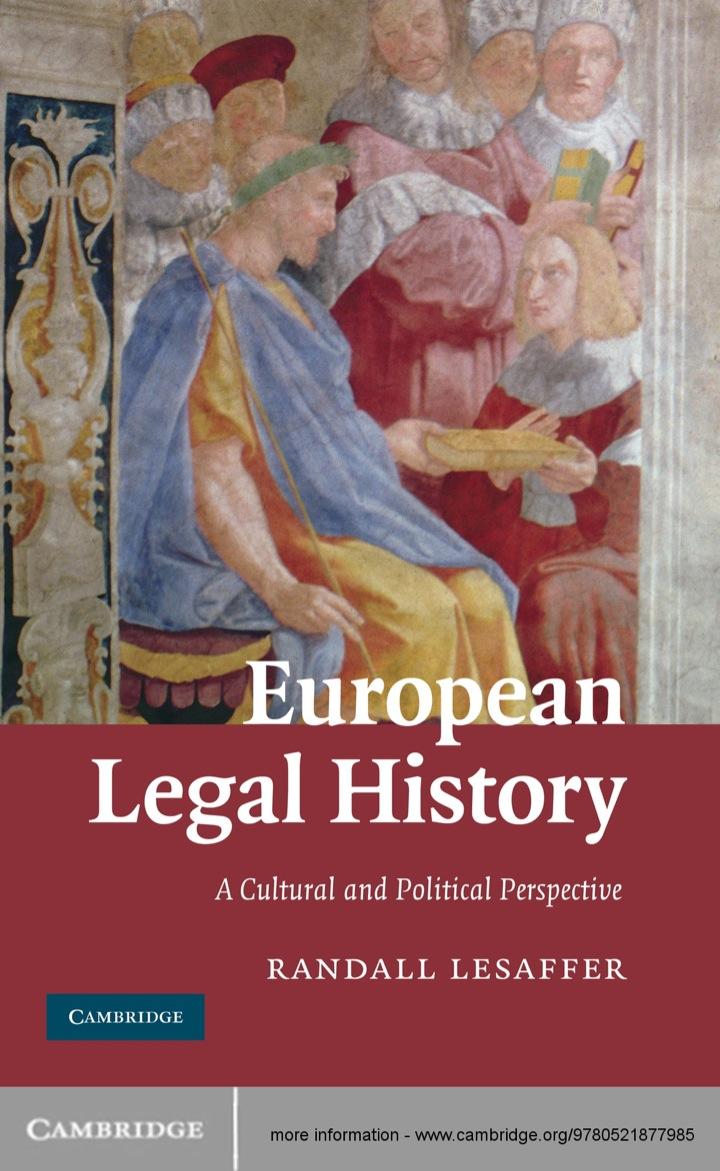 European Legal History
