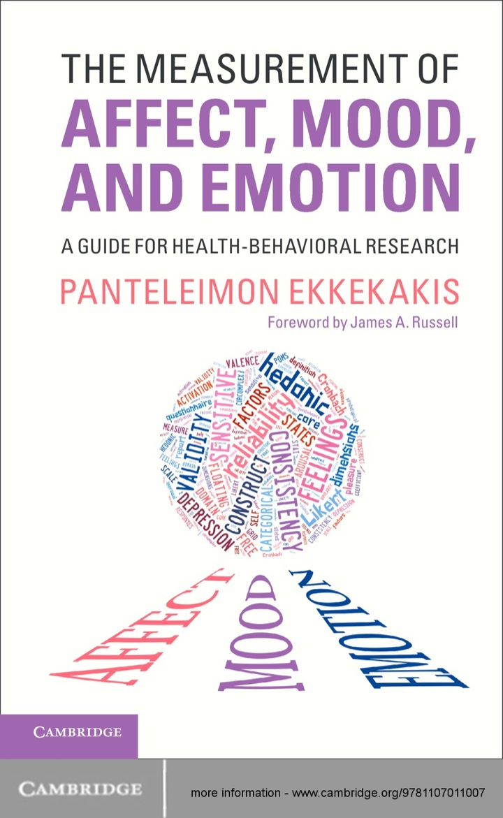 The Measurement of Affect, Mood, and Emotion