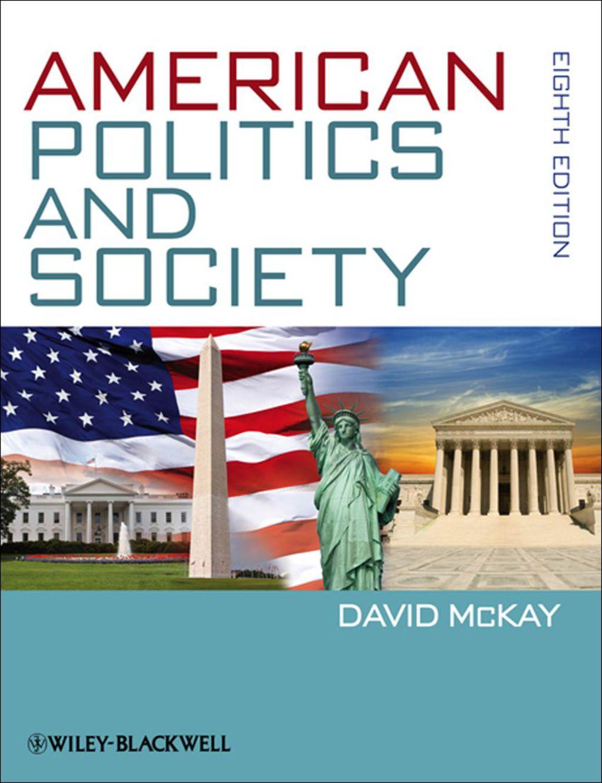 American Politics and Society (eBook)