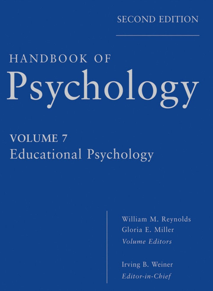 Handbook of Psychology, Educational Psychology