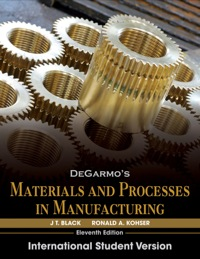 Materials And Processes In Manufacturing 11th Edition Pdf