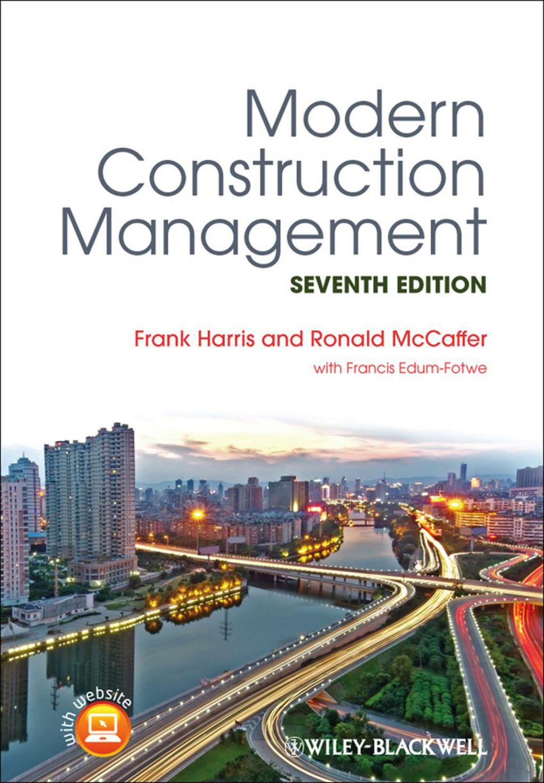 Modern Construction Management (eBook)