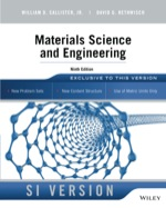 """Materials Science and Engineering, SI Version"" (9781118717189)"