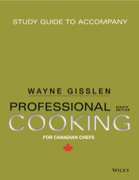 study guide to accompany professional cooking for canadian chefs 8th rh vitalsource com study guide to accompany professional cooking pdf study guide to accompany professional cooking 8th edition