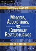 Mergers, Acquisitions, and Corporate Restructurings 9781119063353