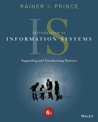 Introduction to information systems 6th edition 9781119108009 introduction to information systems fandeluxe Images
