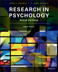 EBK RESEARCH IN PSYCHOLOGY: METHODS AND