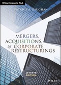 Mergers, Acquisitions, and Corporate Restructurings 9781119380733