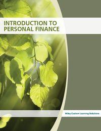 Personal Finance Preliminary Edition 2017