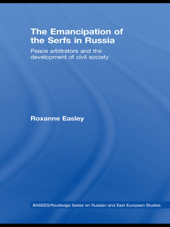 The Emancipation of the Serfs in Russia