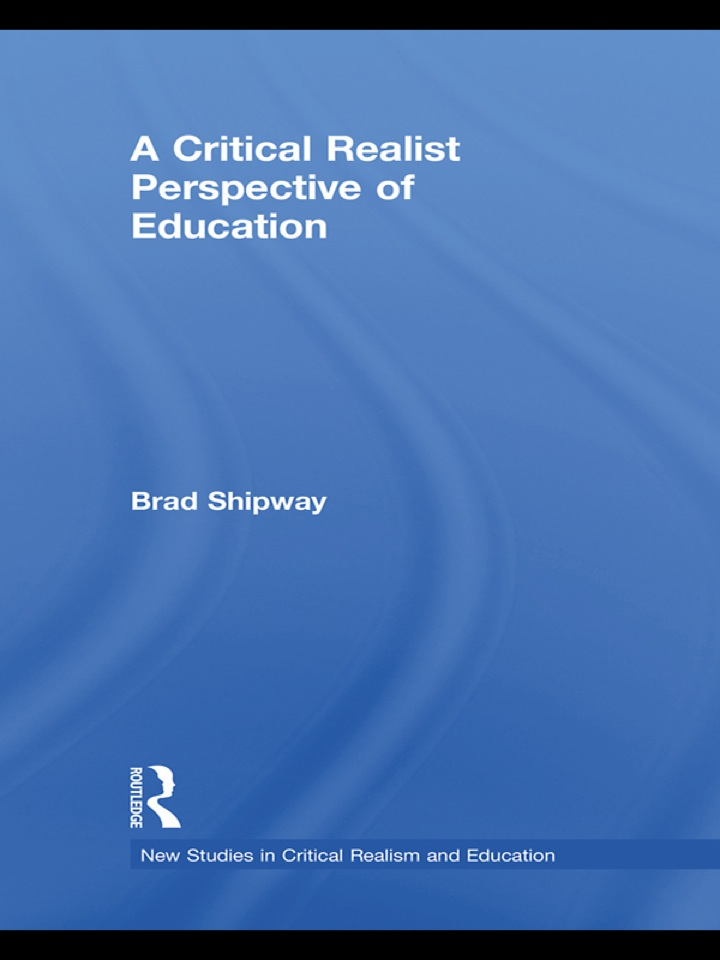 A Critical Realist Perspective of Education