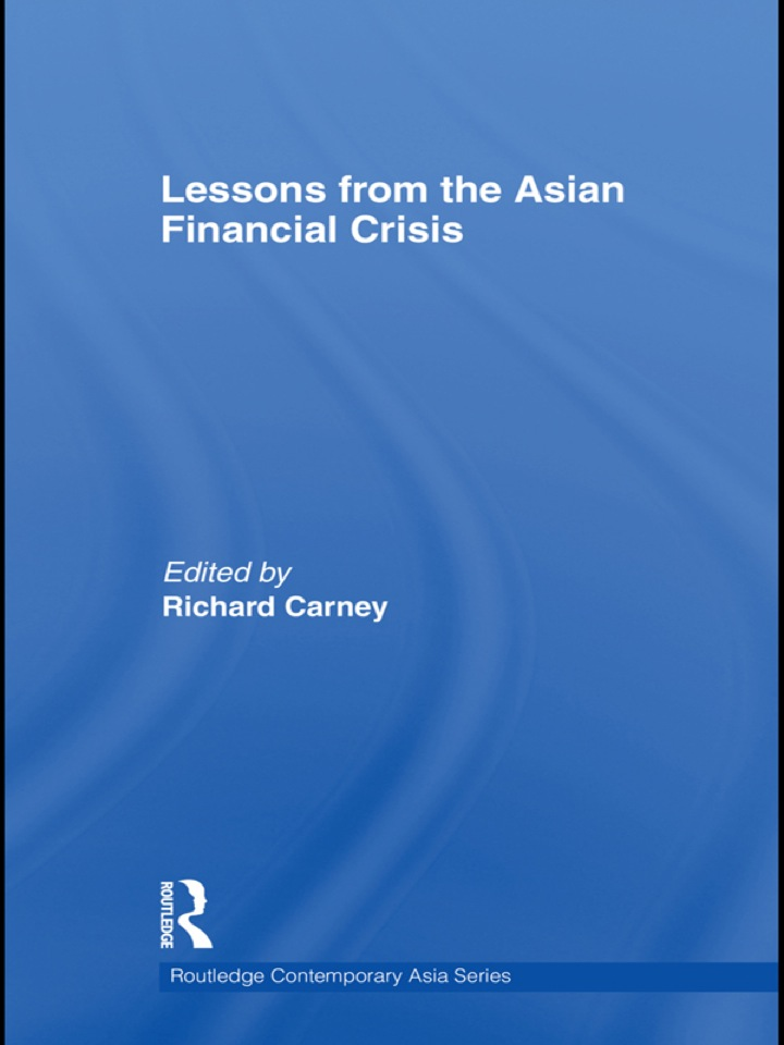 Lessons from the Asian Financial Crisis