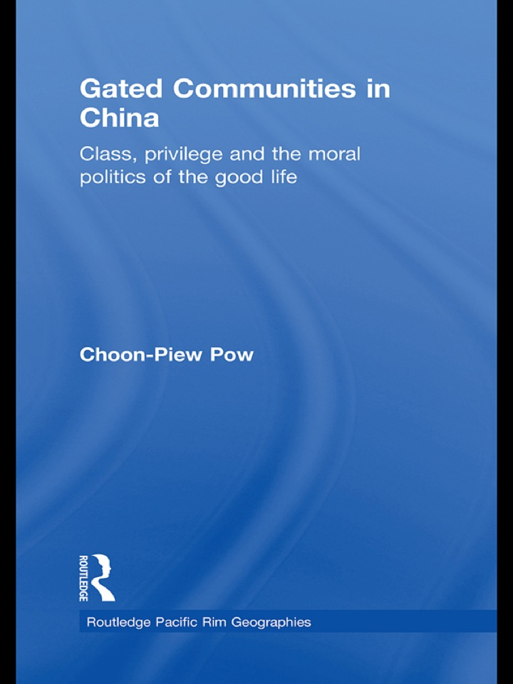 Gated Communities in China