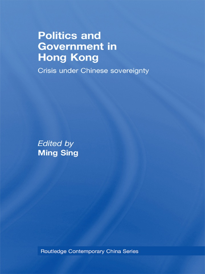 Politics and Government in Hong Kong