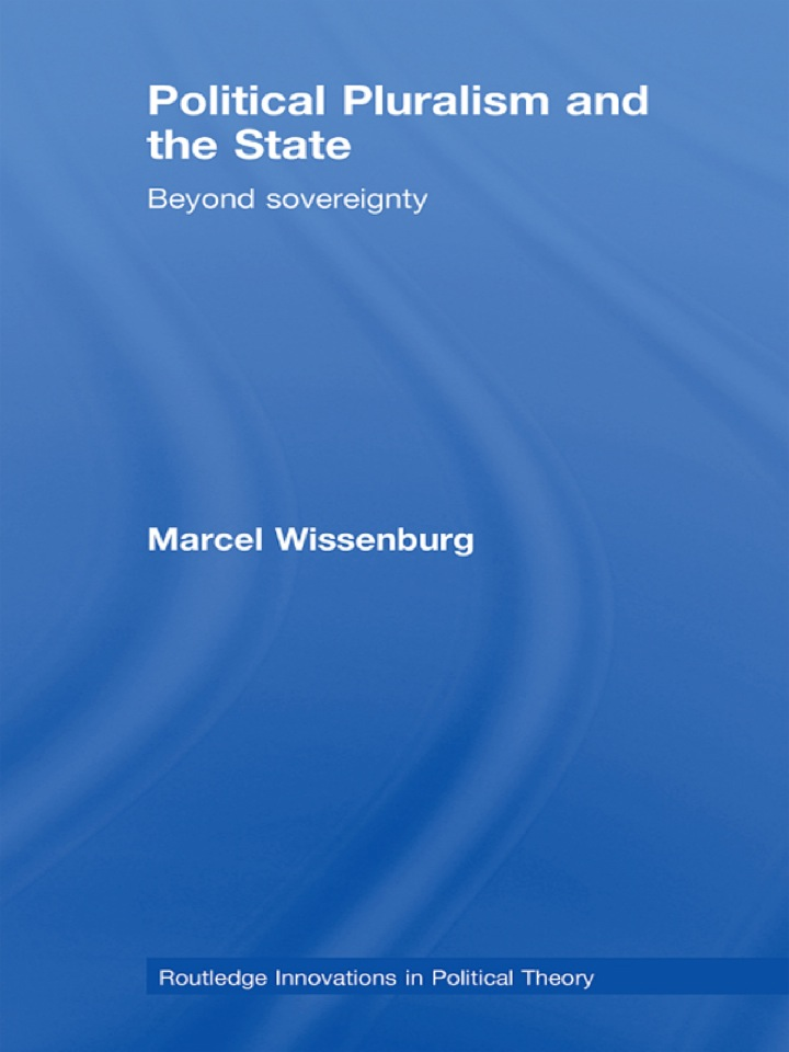 Political Pluralism and the State