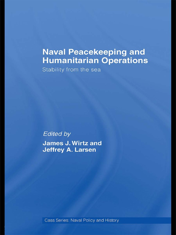 Naval Peacekeeping and Humanitarian Operations