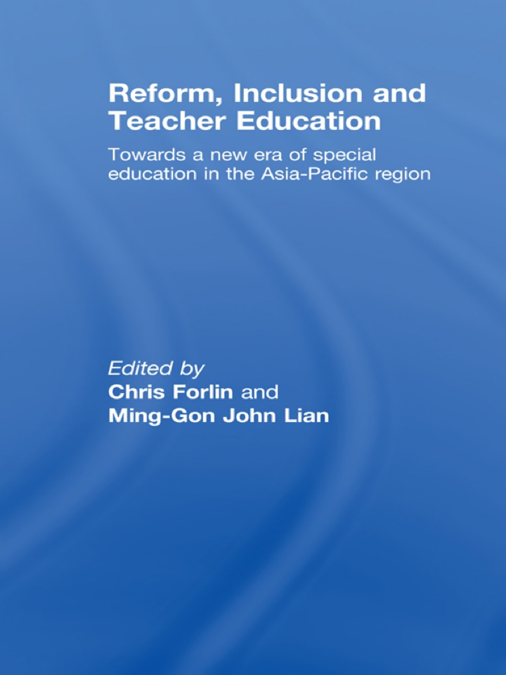 Reform, Inclusion and Teacher Education