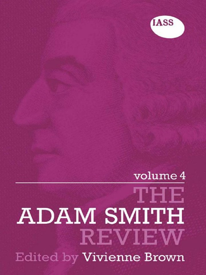 The Adam Smith Review Volume 4