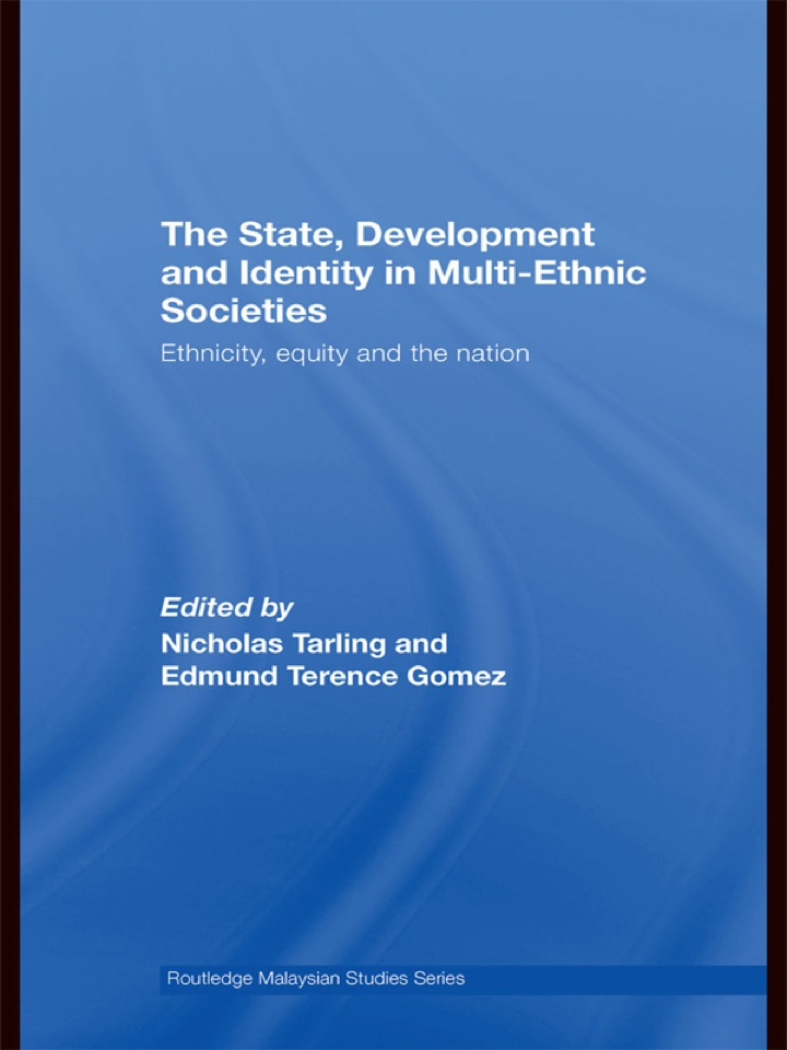 The State, Development and Identity in Multi-Ethnic Societies