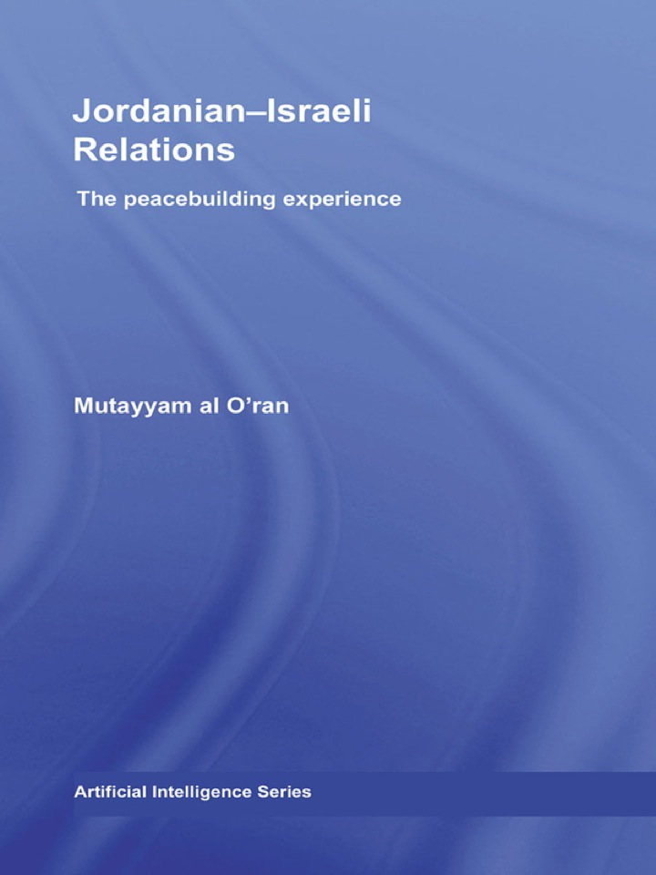 Jordanian-Israeli Relations