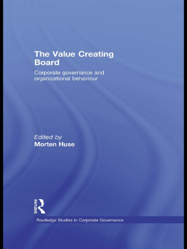 The Value Creating Board