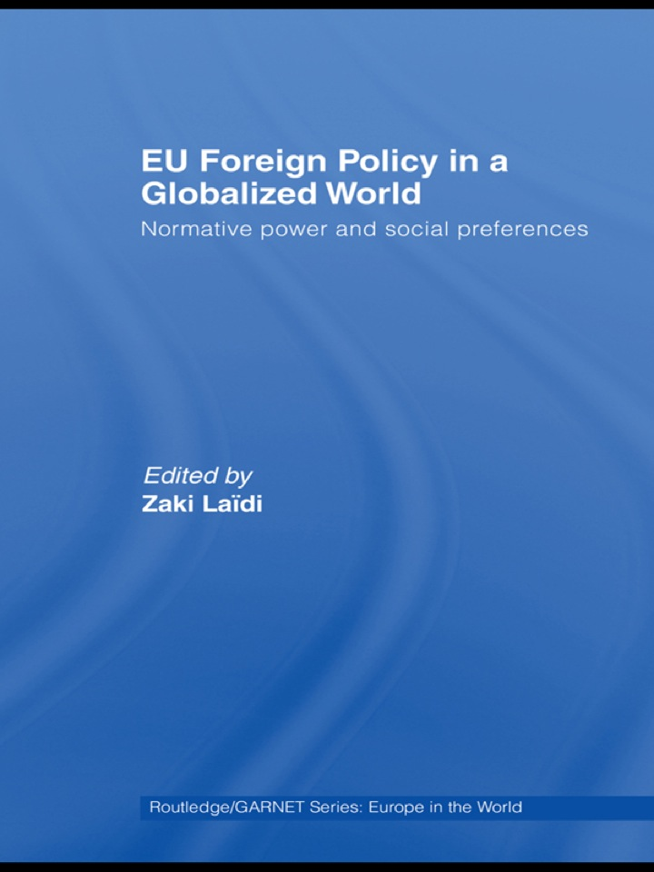 EU Foreign Policy in a Globalized World
