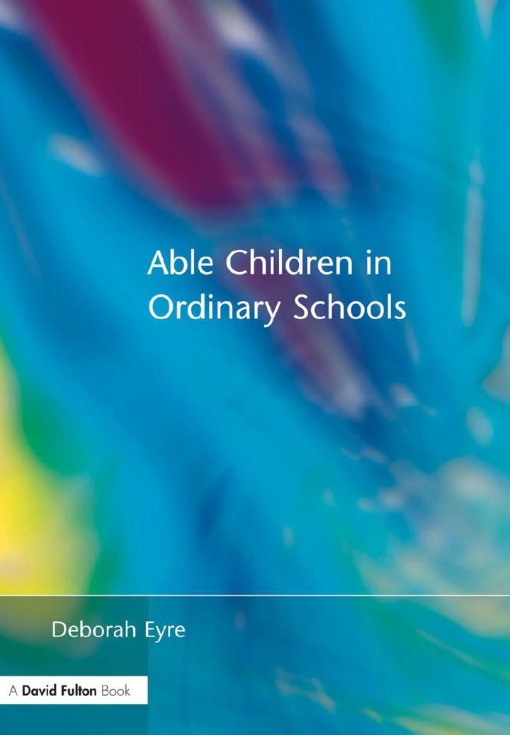 Able Children in Ordinary Schools