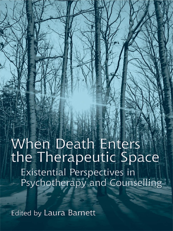 When Death Enters the Therapeutic Space