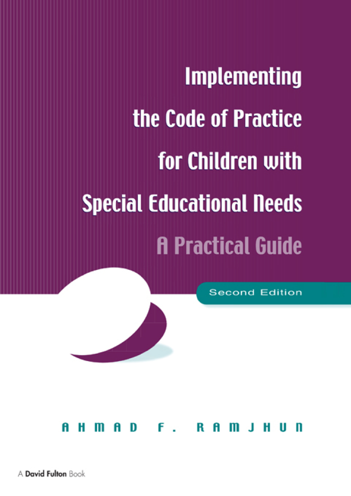 Implementing the Code of Practice for Children with Special Educational Needs