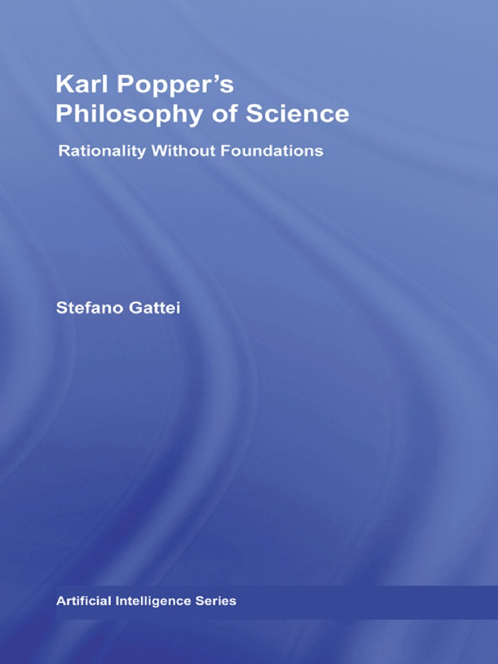 Karl Popper's Philosophy of Science