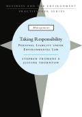 Taking Responsibility 9781134189939R90