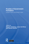 Puzzles of Government Formation 9781134239719R90