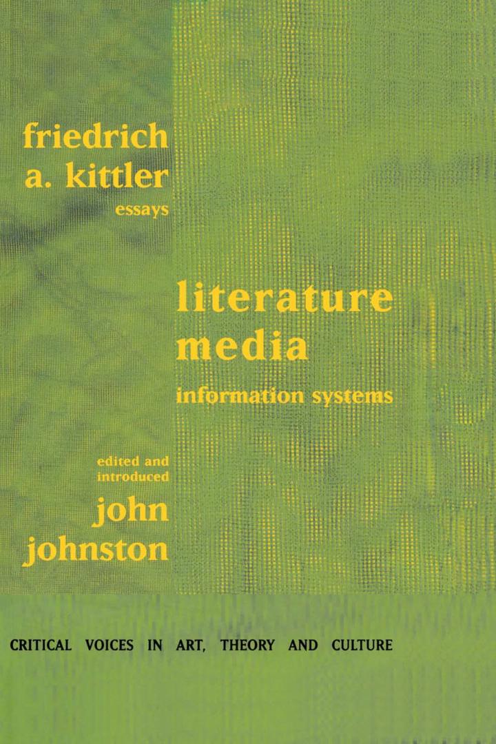 Literature, Media, Information Systems