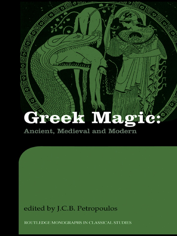 Greek Magic