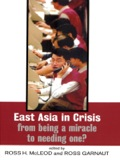 East Asia in Crisis 9781134640607R90