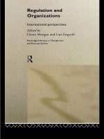 """""""Regulation and Organisations"""" (9781134670499)"""