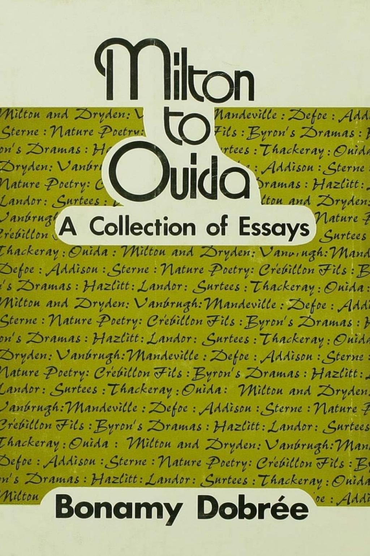 Milton to Ouida (eBook Rental)