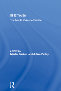 assessment of debates on media effects That 'direct effects of media upon behaviour have not been clearly identified, then we should conclude that they are simply not there to be found' it is true that media effects are not identified, however they are there they are elements which rely on our behaviour.