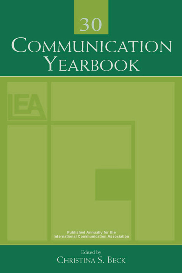 Communication Yearbook 30